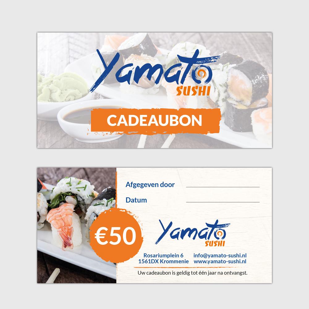 Sushi Restaurant Gift Card